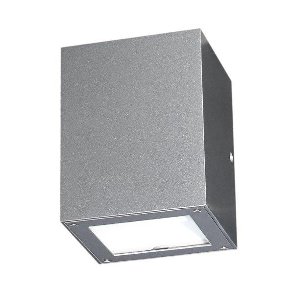 CUBIX Up/Down Wall Light - Silver